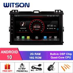 Écran 9 pouces Witson Android 10 Lecteur de DVD de voiture pour Toyota Prado 2006-2010