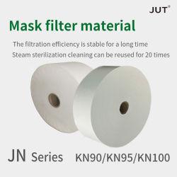 Filtre masque de type N'E-PTFE chiffon Melt-Blown pas l'efficacité de filtration est stable pendant une longue période