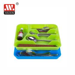 Supporto di plastica di memoria dell'utensile della cremagliera del cassetto del cassetto della coltelleria per la cucina