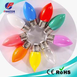 C35 شمعة 1 واط 2 واط 3 واط SMD E14 LED لون لمبة ضوء عيد الميلاد