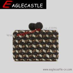Cx20932 - Diamant Perlen Stickerei Design Abend Damen Tasche Hochzeit Clutch Luxus-Armbänder Hochzeit Party Brautbörse Kette Handtasche