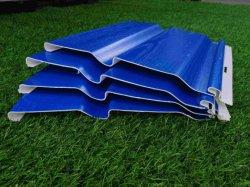 Водонепроницаемый УФ-голубой ПВХ материал настенной панели для наружной