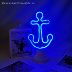 Kundenspezifische Neonbeleuchtung-Lampe 5V für Schlafzimmer-Dekoration