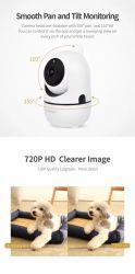 D4 Alarm I/O 360 درجة Wide Angle Wireless IP WiFi (إدخال/إخراج تنبيه بزاوية واسعة 360 درجة) مصباح كاميرا التحكم عن بُعد