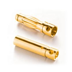 Banana 4 mm Conector de cobre chapado en oro masculino femenino Electric conector banana
