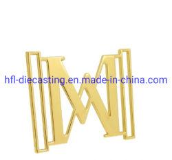 Dongguan Fabrik Custom Zink Legierung Buchstaben Metall Buchstaben