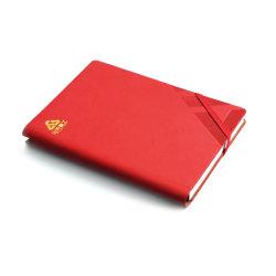 Business Hardcover PU-notebook, kan interne kleurenpagina's afdrukken, kan worden aangepast ontwerp A4-, A5- en A6-formaat