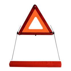 تحذير من تعطل السيارة في حالات الطوارئ مثلث السلامة التأملية الأحمر السفر في حالات الخطر مجموعة الأدوات