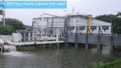 Reforço de fibra oca UF/ Equipamento Mbr Watertreatment de esgotos