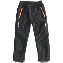 Piscina para crianças calças quentes Boy Girl Fleece Forrada Pants