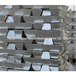 Lingotes de magnésio / 99,99% de pureza elevada magnésio lingotes de metal puro / Mg lingotes de alumínio