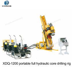 Xdq-1200表面のダイヤモンドのコア調査のミネラル掘削装置
