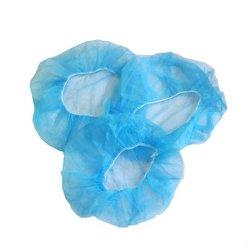 使い捨て可能な塵の帽子の帽子Non-Wovenヘッド供給のタイプおよび反細菌の看護婦の帽子のBouffant卸し売りプラスチックほこりのない塵の証拠の産業個人的な安全