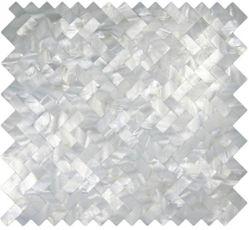 Fischgrät Perlmutt Mosaik Fliesen für Badezimmer Küche Wand