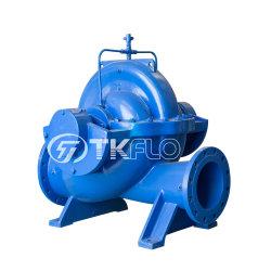 Ans le cas de fractionnement horizontale double aspiration pompe centrifuge pour alimentation en eau municipal urbain