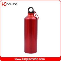 350/500/750/1000ml van het de flessenroestvrij staal van aluminiumsporten het waterfles met metaalhaak