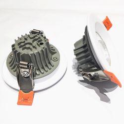 Kundenspezifische Aluminium Druckguss-Teile für Ersatzteile LED-Downlight