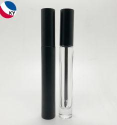 De in het groot 5ml 10ml Kosmetische Verpakking van de Buis van de Mascara van de Fles van het Glas van het Serum van de Wimper van de Steen van de Container van Lipgloss van de Eyeliner van het Gel van Brow van de Flessen van het Glas Zwarte Lege