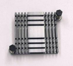 방열판, 라도도르, 디스포도르 드 칼르, 아이스박스, 중국에서 제작, CNC 기계 가공, 산화 처리, 방열판, 전자 방열판 글루 못을 위한 50개의 구멍이 있는 옆쪽 귀