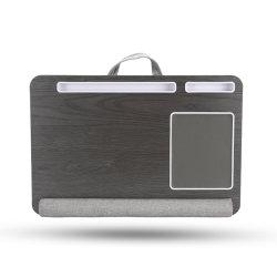 Geschikt voor een laptopbureau van maximaal 17 inch, ingebouwd muismat en polspad voor laptopstandaard met tablet