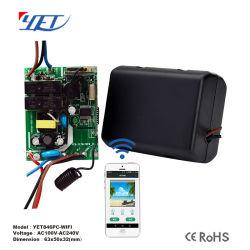 WiFi RF433制御電気カーテンWindowsのための管状モーターコントローラYet847