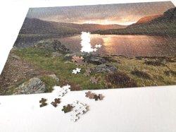 カスタマイズされたペーパー1000PCS困惑の印刷ボックス一定の子供のジグソーパズル