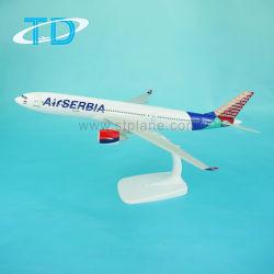 Schuppen-1:200 32cm Luft-Serbien-A330-200 Flughafen-Fläche-Ansammlung