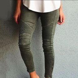 4 kleuren Hoge Waist Skinny Jeans Vrouwen Butt Lift Denim Jeans Crumple Potloodbroek Jeggings