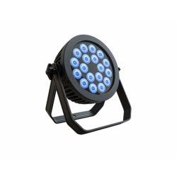 300W 6 em 1 Rgbaw UV televisão LED PAR A iluminação pode Piscina