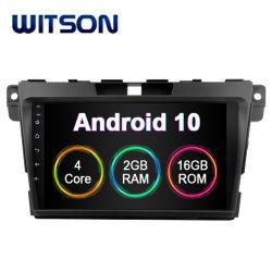 """Witson 9 """" 인조 인간 10 Mazda Cx 7 2013-2014년 차량 멀티미디어 시스템을%s 큰 스크린 차 항법 Rado GPS"""