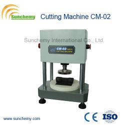 Testeur de caoutchouc/Type de machine de découpe pneumatique CM-02