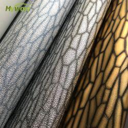 0.53 * 10m 금속 PVC 배경화면 방수 최신 디자인