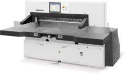 Taglierina di carta ad alta velocità idraulica automatica di controllo di programma (166F)