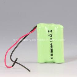 Batteria del telefono senza cordone del CE NI-MH (AAA 600mAh 3.6V)
