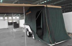 Piscine de l'Australie tente camping remorque galvanisé
