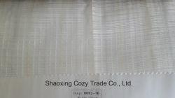 Nouveau projet populaire Stripe Croix Rideau organza tissu voile pure 008270