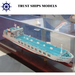Миниатюрный деревянный корабль модель/Контейнеровоза модели
