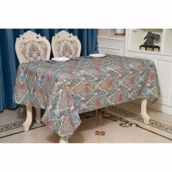 卸し売り順序のホテル党ポリエステル平野のテーブルクロスの綿のテーブルクロス