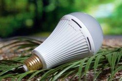 لمبة LED لبطارية ليثيوم بقوة 9 وات بقوة 12 وات بقوة 15 وات في حالات الطوارئ قابلة لإعادة الشحن E27 85-265V