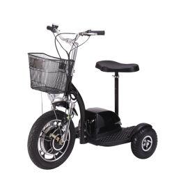 500W de volwassen Elektrische Autopedden Met drie wielen Met drie wielen van de Mobiliteit