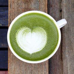 مشروب القهوة الياباني الفوريّ ماتشا بودر الحليب مشروب ماتشا