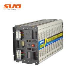 3000W 12V pour 110/220 V DC hors réseau à haute fréquence à l'AC 10/20/30une onde sinusoïdale pure de l'onduleur UPS avec chargeur