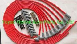 10.5mmの点火プラグワイヤーセット、Sbc Bbc Heiのための9PCS高性能の点火プラグケーブル電子350 383 454