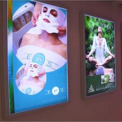 Publicidade fina caixa de luz LED Light Frame/Moldura Fotográfica