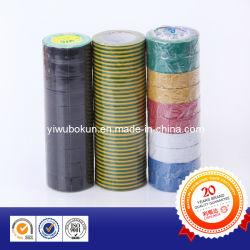 新製品PVC絶縁体テープ、耐火性の電気テープ、PVC電気テープ(BK-1-217)