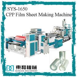CPP Máquinas Extrusoras de Películas SYS-CPP160