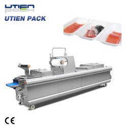 La Chine de viande automatique usine Sea Food pêcher la crevette du thermoformage sous vide Paquet De La Peau/Pack/emballage/la machine de conditionnement