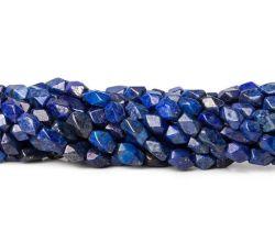 Lâche Strand Lapis-lazuli de pierres précieuses perles rectangulaires à facettes pour la mode la fabrication de bijoux BIJOUX Bracelet Bague collier