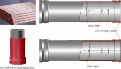 Twin-Wall Tubos resistentes abrasivos para sistemas de tubulação hidráulica e pneumática