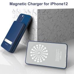 Универсальные портативные Smart Мобильный Банк питания 5000Мач Powerbank беспроводной связи для iPhone 12 PRO Max